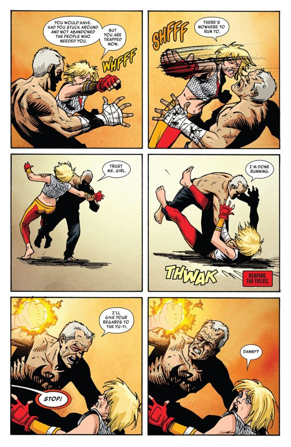 Iron Fist #80 art by Damian Couceiro and Andy Troy