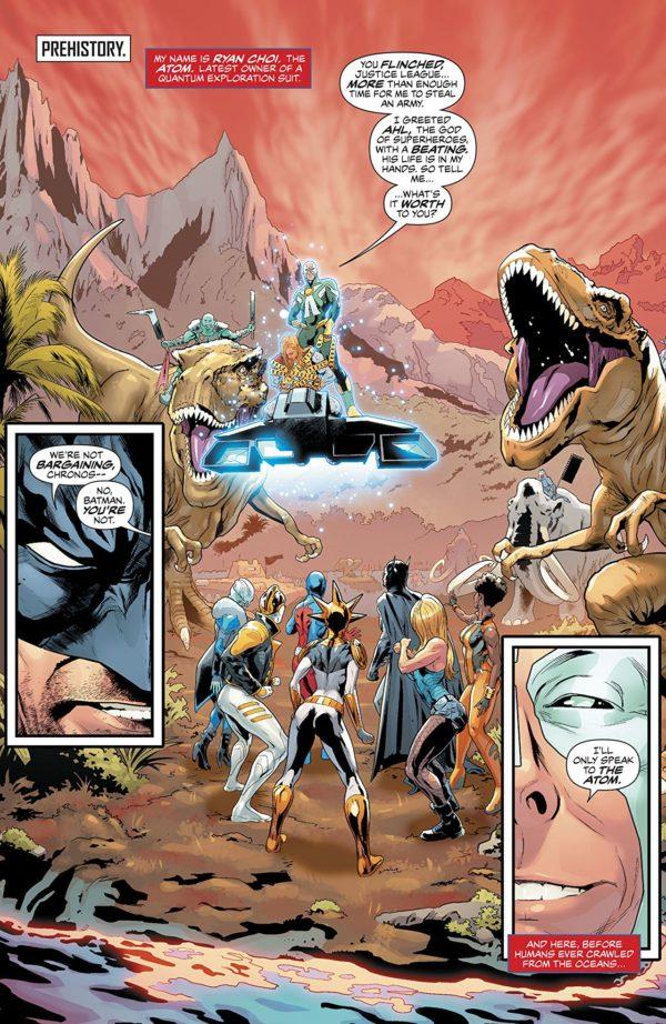 Justice League of America #28 art by Hugo Petrus and Hi-Fi