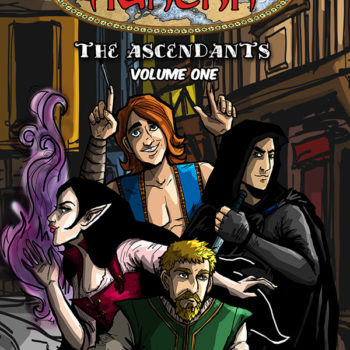 Caliber Comics Legends of Aukera The Ascendants