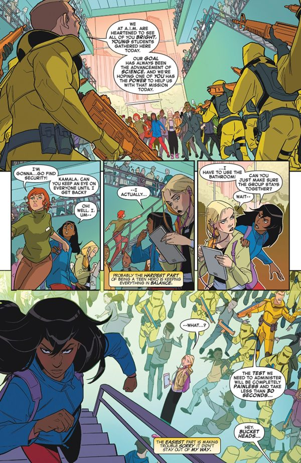 Marvel Rising #0 art by Marco Failla and Rachelle Rosenberg