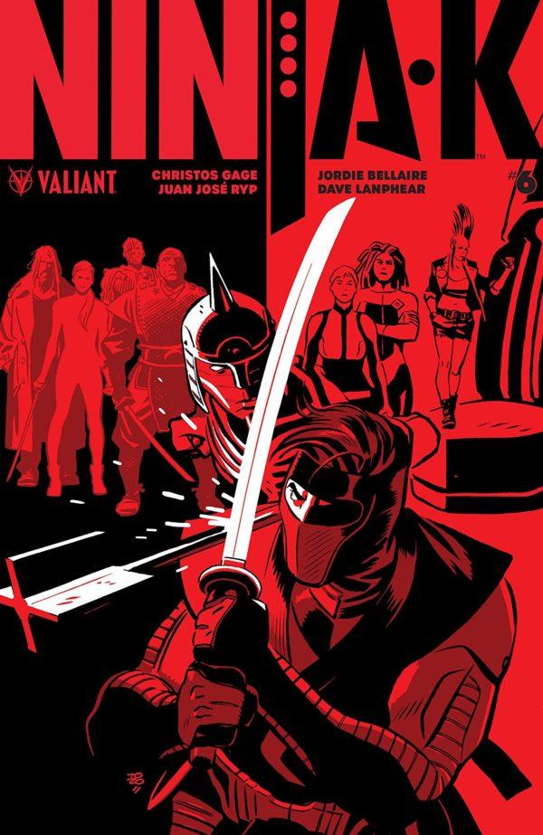 Ninja-K #6 cover by Tonci Zonjic