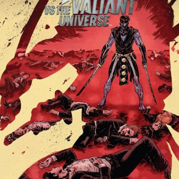 Ninjak vs the Valiant Universe #4 cover Brian Level