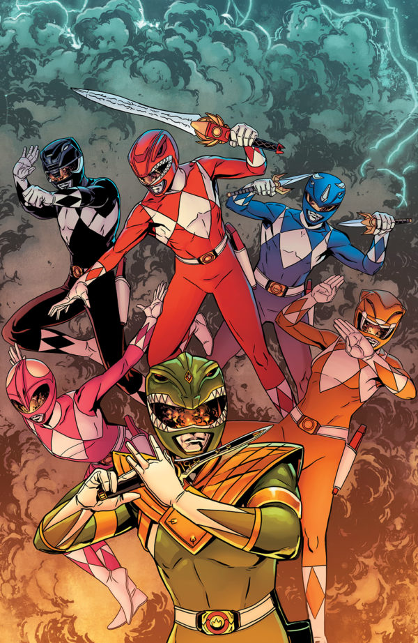 Mighty Morphin Power Rangers #25 variant