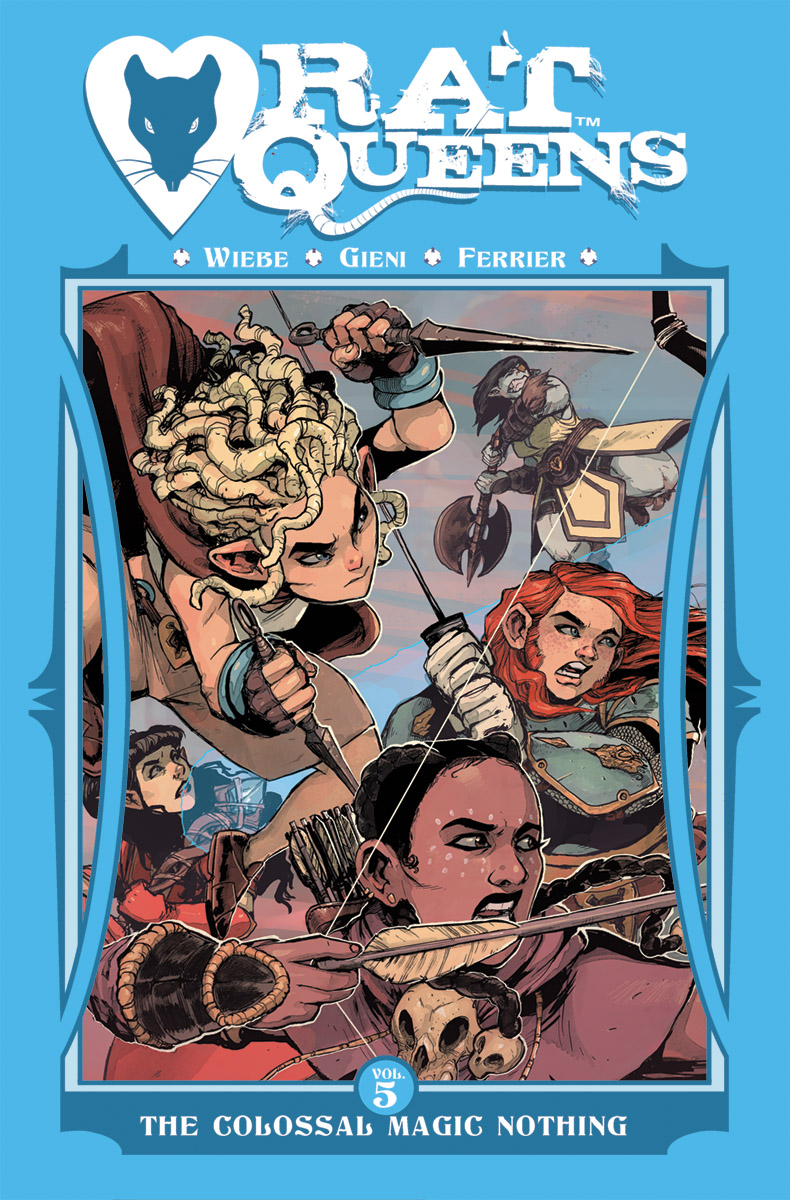 Rat Queens, Vol. 5: The Colossal Magic Nothing TP