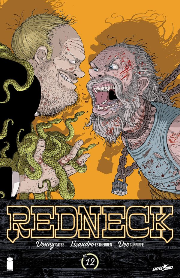 Redneck #12 cover by Nick Pitarra