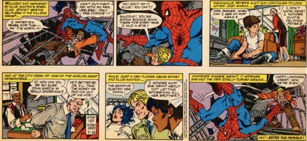 Amazing spiderman comic strip images 402