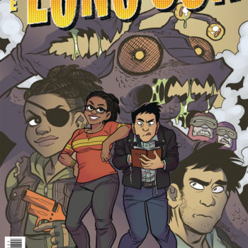 the long con Oni Press July 2018 Solicits