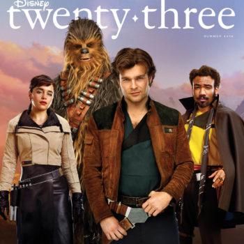 Solo: a star wars story disney twenty-three
