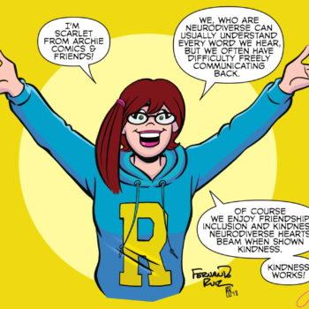scarlet archie comics Autism Awareness Day