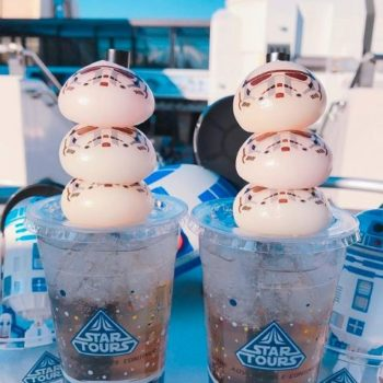 Stormtrooper Mochi at Tokyo Disneyland