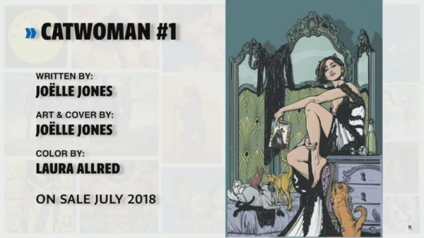 Jo lle jones to write and draw an ongoing catwoman comic Calligraphy youtube