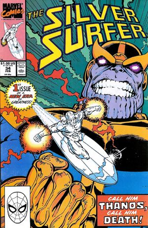 back issues silver surfer