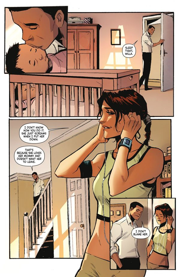 Skyward #1 art by Lee Garbett and Antonio Fabela