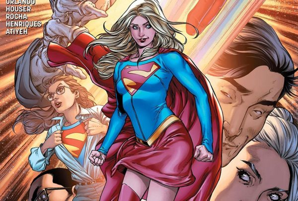 Supergirl #20 cover by Robson Rocha, Daniel Henriques, and Michael Atiyeh