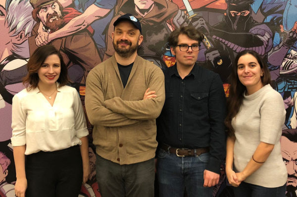 valiant entertainment staff
