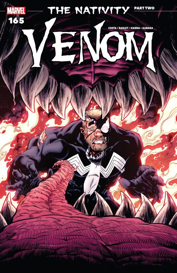 Venom #165 cover by Ryan Stegman