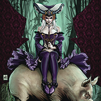 wonderland Zenescope Entertainment July 2018 Solicits