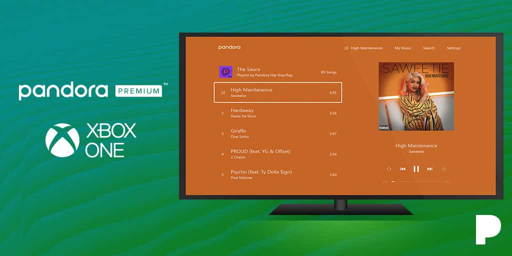 Pandora is Partnering with Xbox One to Offer a Pandora