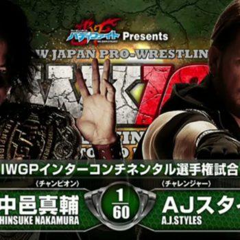 AJ Styles and Shinsuke Nakamura