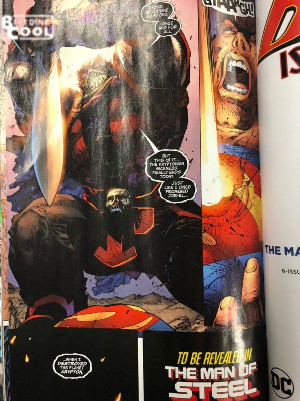 Action Comics #1000 final page bendis lee