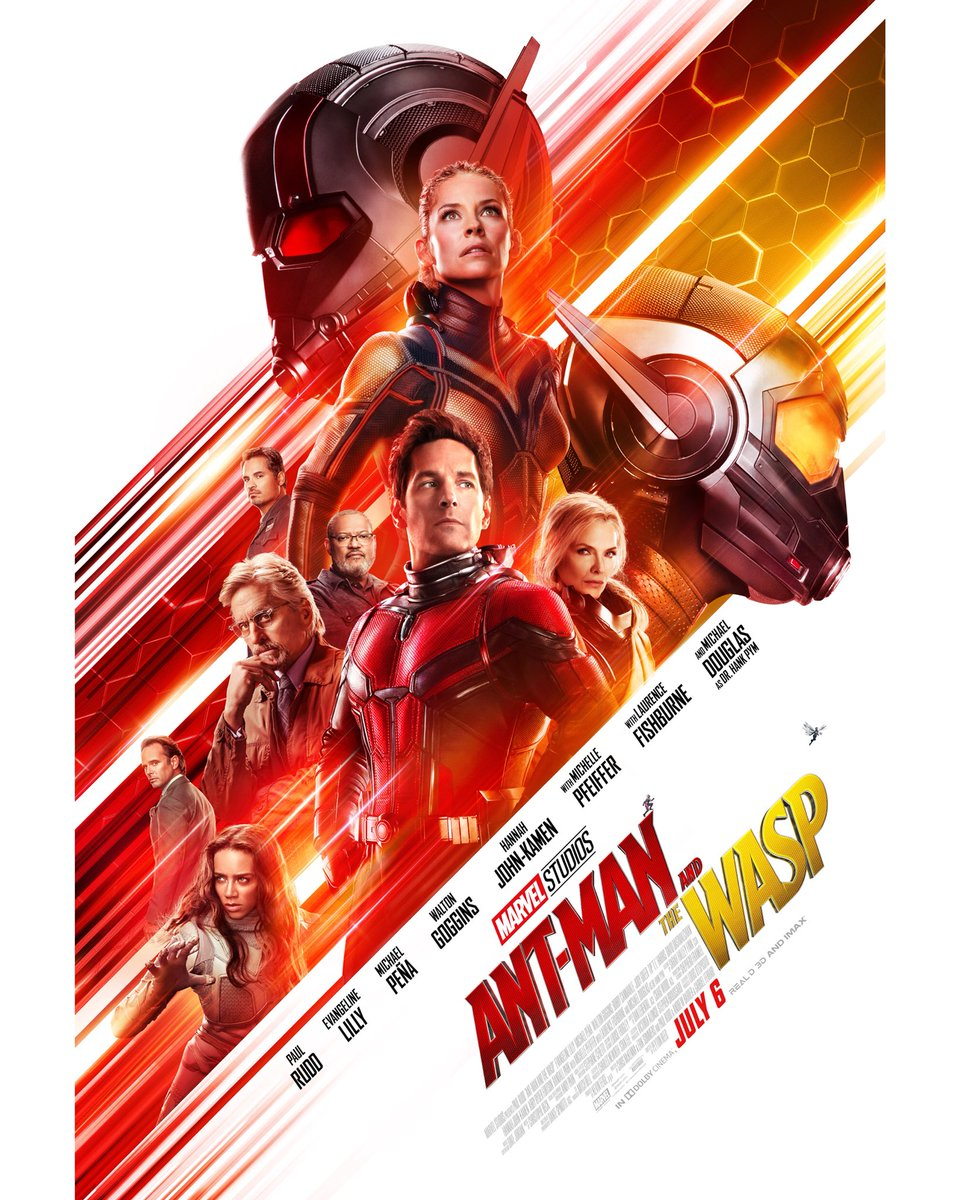 New Ant-Man and the Wasp Standee Surfaces