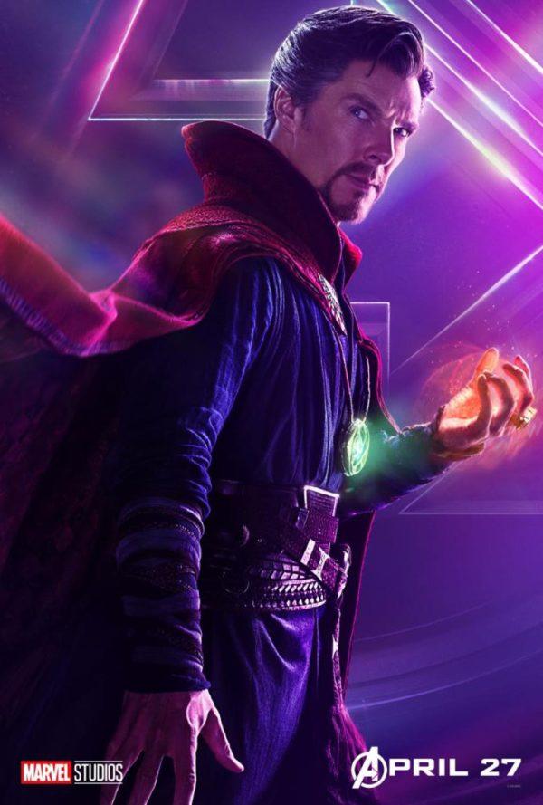 Doctor Strange character poster avengers: infinity war