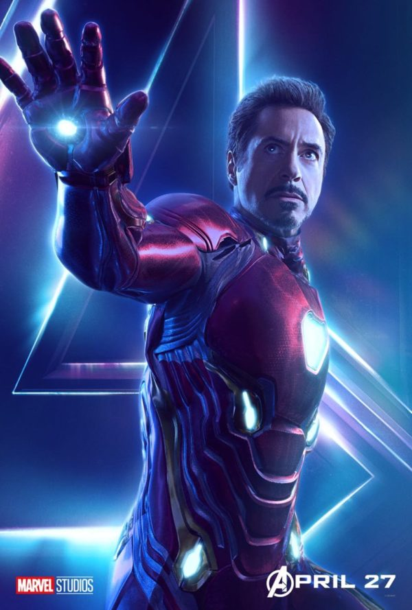 iron man character poster avengers: infinity war