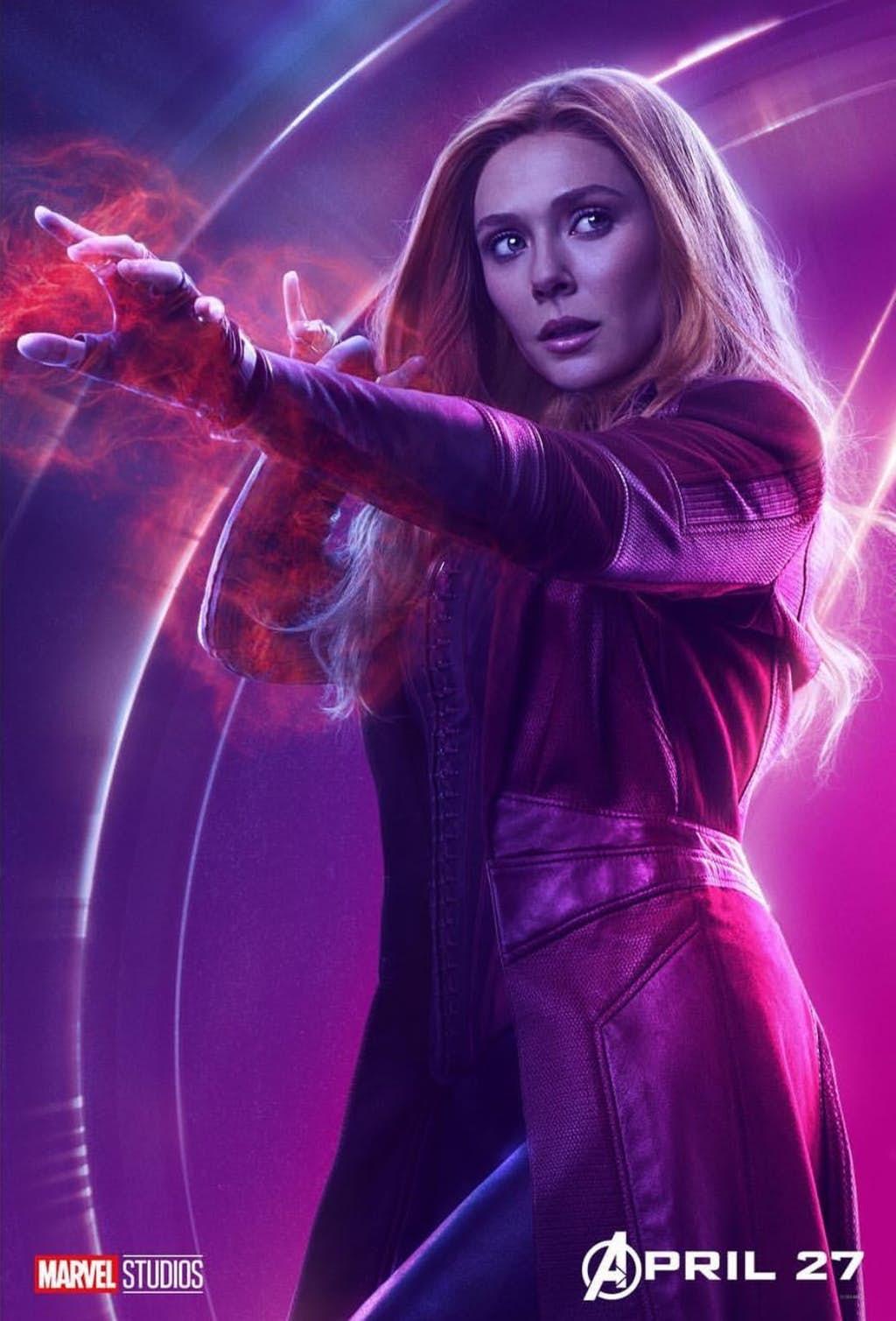 Elizabeth Olsen Doesn't Want a Solo Scarlet Witch Movie