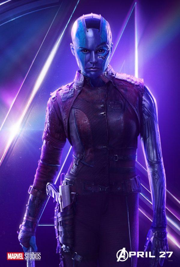 avengers Karen Gillan nebula