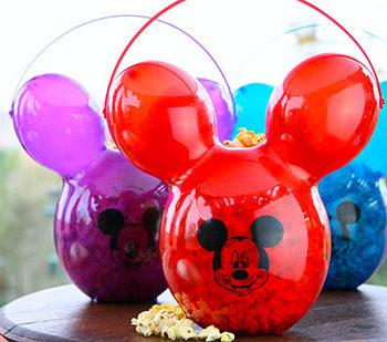mickey popcorn buckets