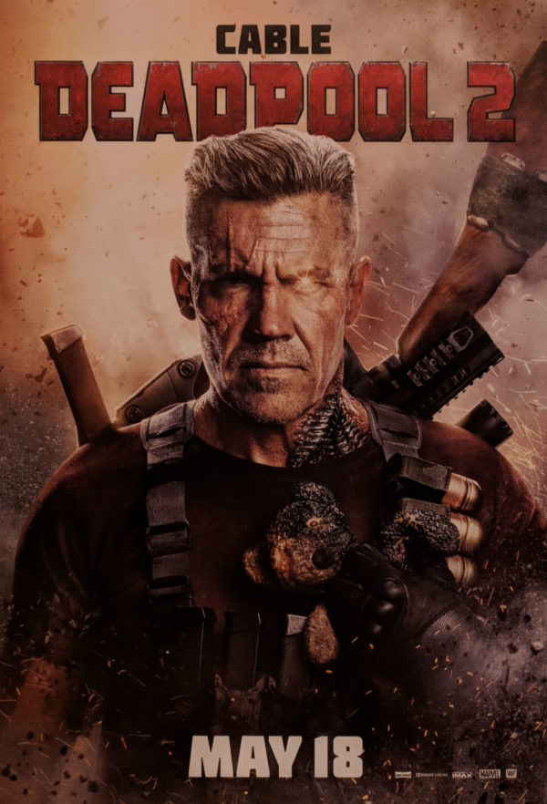 Deadpool 2: New Cable Poster from Cinemacon