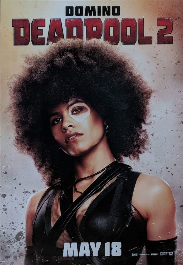 Deadpool 2: New Domino Poster from Cinemacon