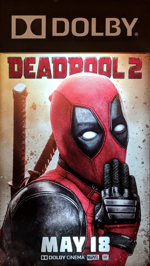 Deadpool 2: New Deadpool Standee from Cinemacon