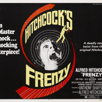 frenzy alfred hitchcock poster