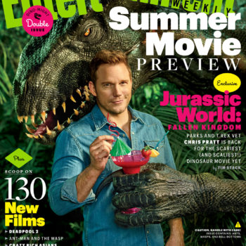 jurassic world fallen kingdom EW cover