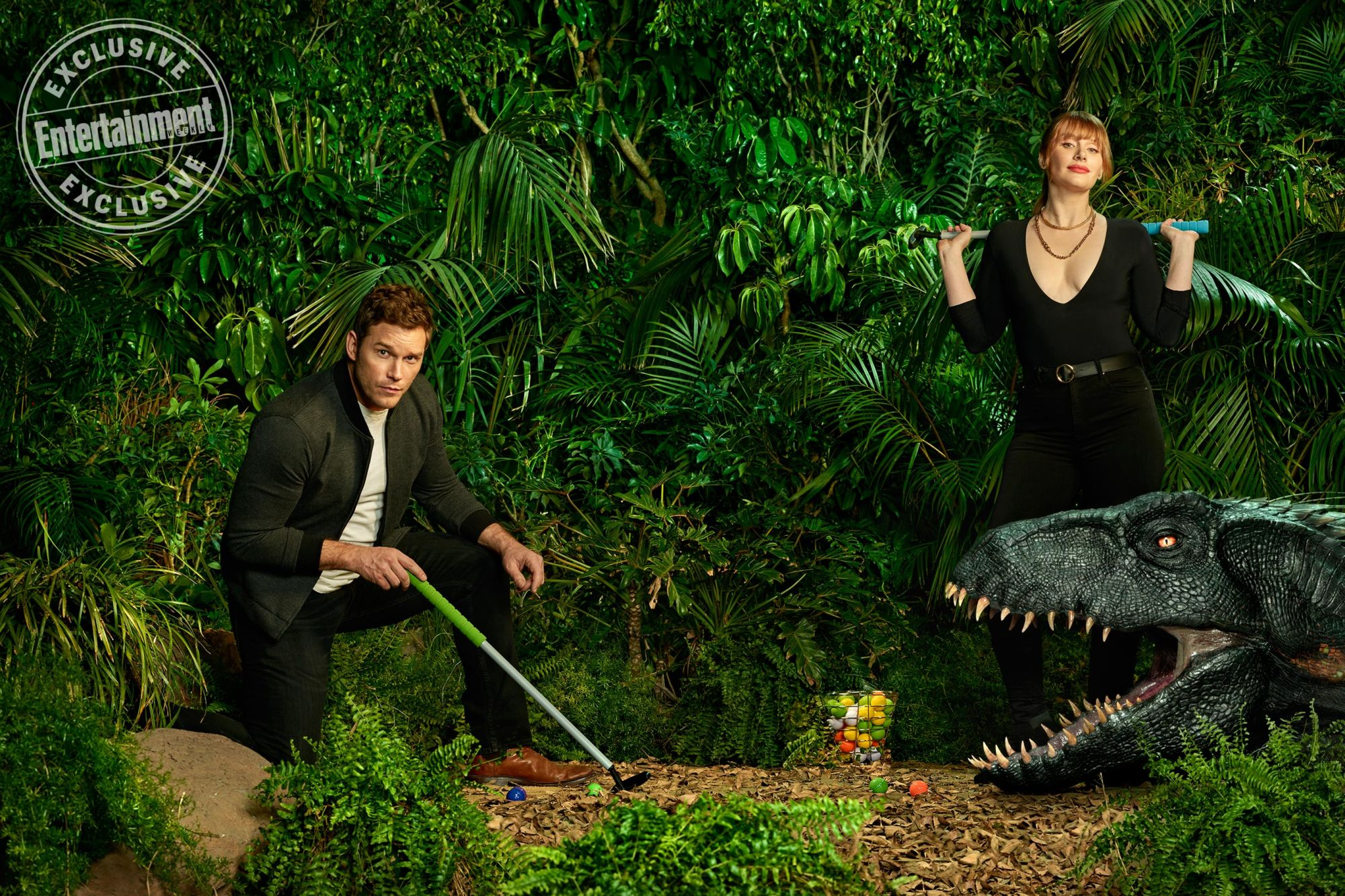 New Cover and Promotional Photos for Jurassic World: Fallen Kingdom