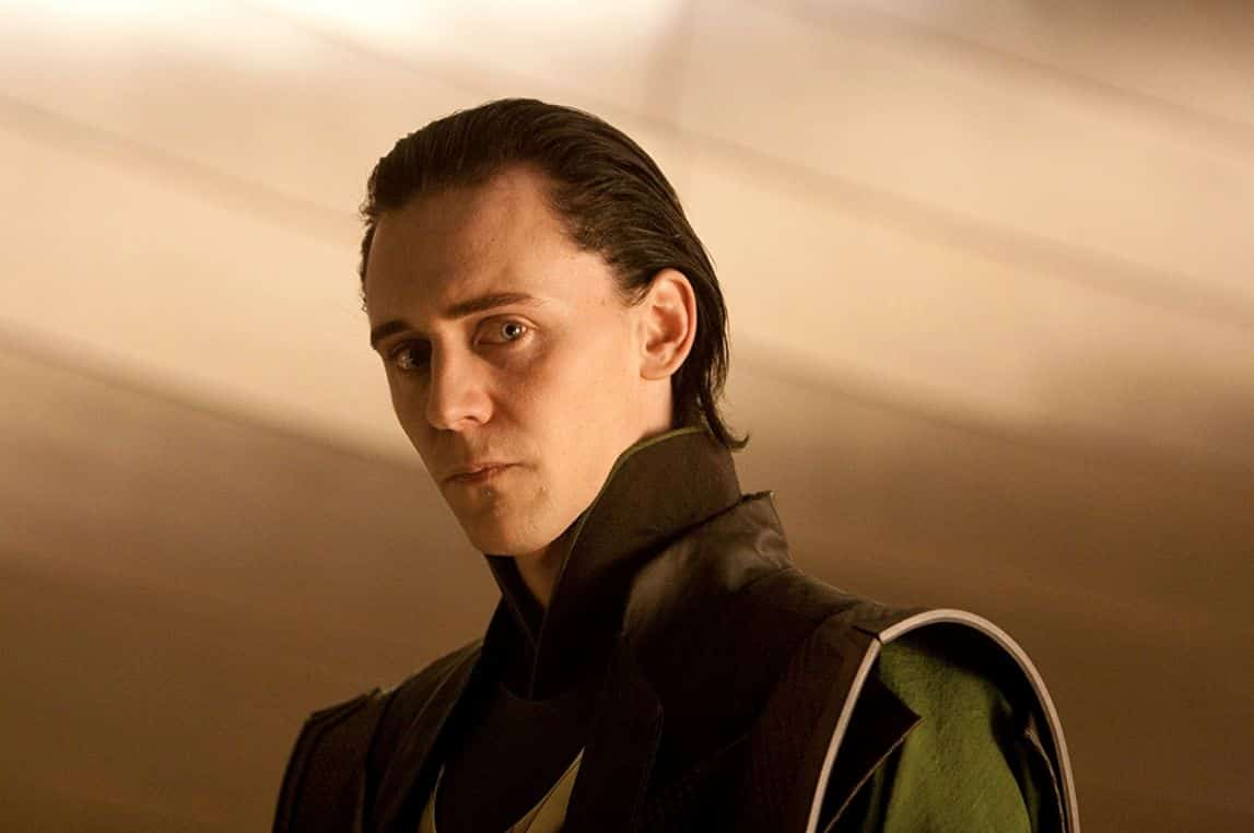 The Best Tom Hiddleston Short Black Hair PNG