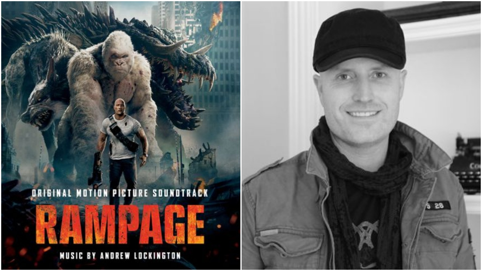Rampage Composer Andrew Lockington on Scoring Monsters and The Rock
