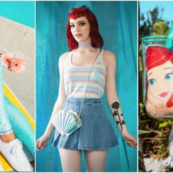 disney mermaid fashion