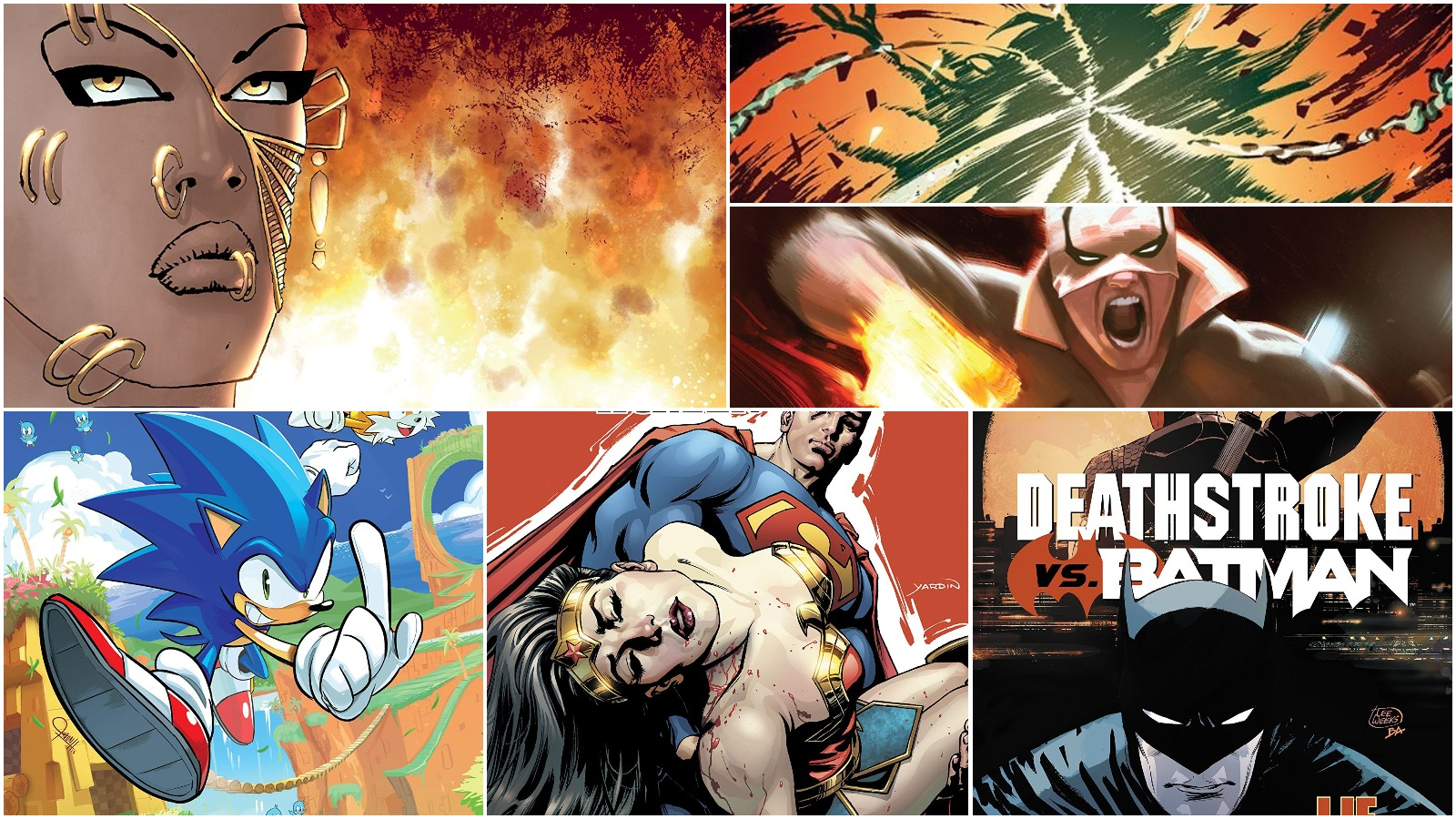 Comic Book Wins and Losses, Week of 04/04/18: sonic the hedgehog and more