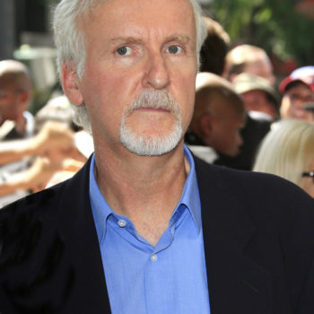 James Cameron at a ceremony as Gale Anne Hurd is honored with a star on the Hollywood Walk of Fame on October 3, 2012 in Los Angeles, California