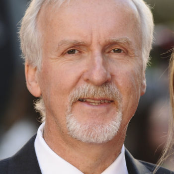 "James Cameron arriving for the ""Titanic 3D"" premiere at the Royal Albert Hall, Kensington, London. 27/03/2012 Picture by: Steve Vas / Featureflash"