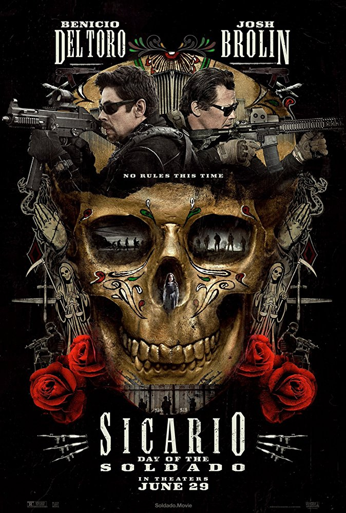 new poster for sicario day of the soldado bleeding cool news and