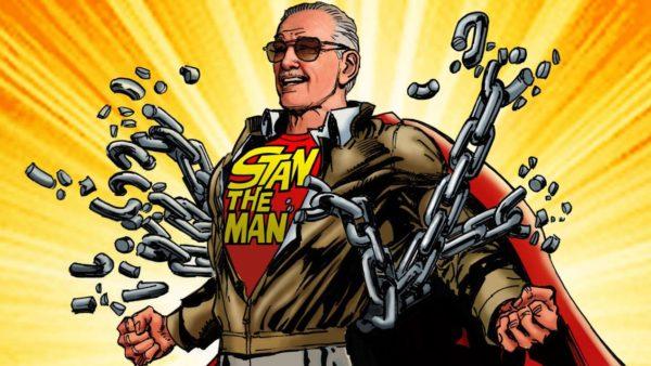 Stan Lee drawn by Neal Adams