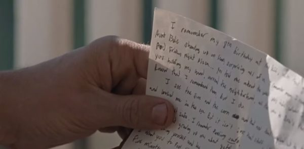 walking dead carl letter rick