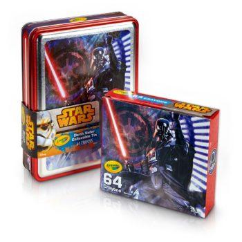 star wars darth vader crayola sets