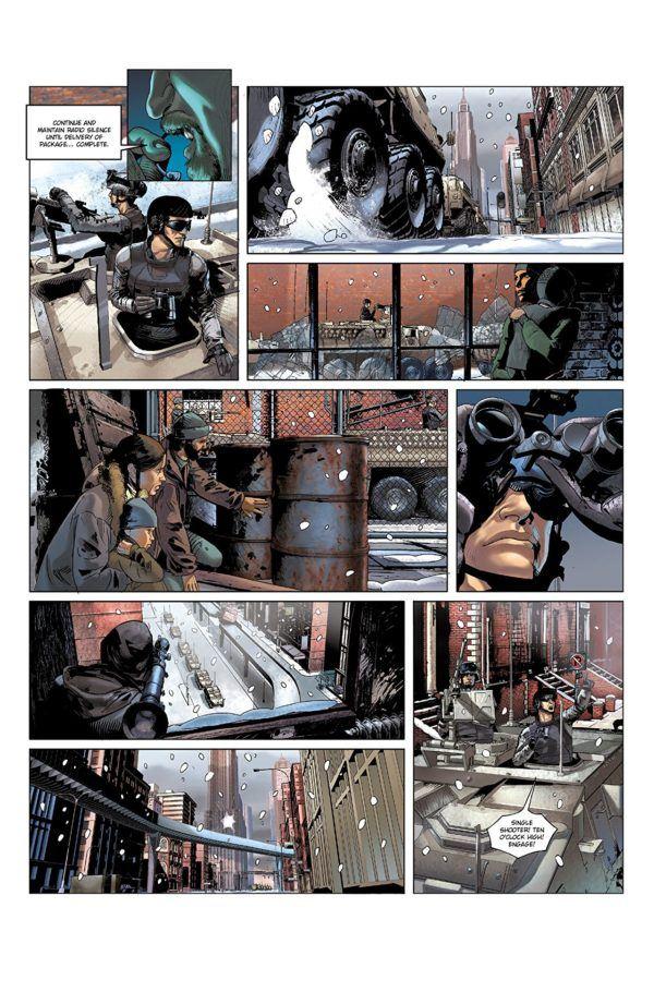 2021: Lost Children #1 art by Stephane Bervas and Massimo Rocca