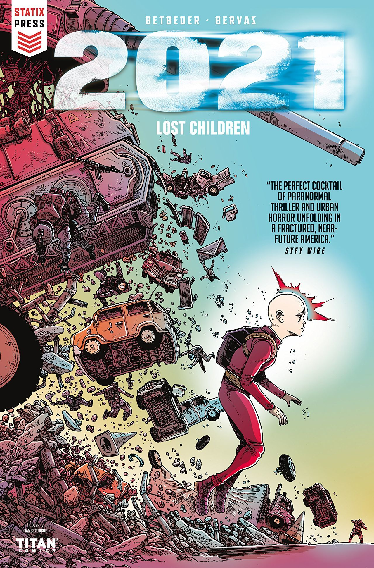 2021: Lost Children cover by James Stokoe