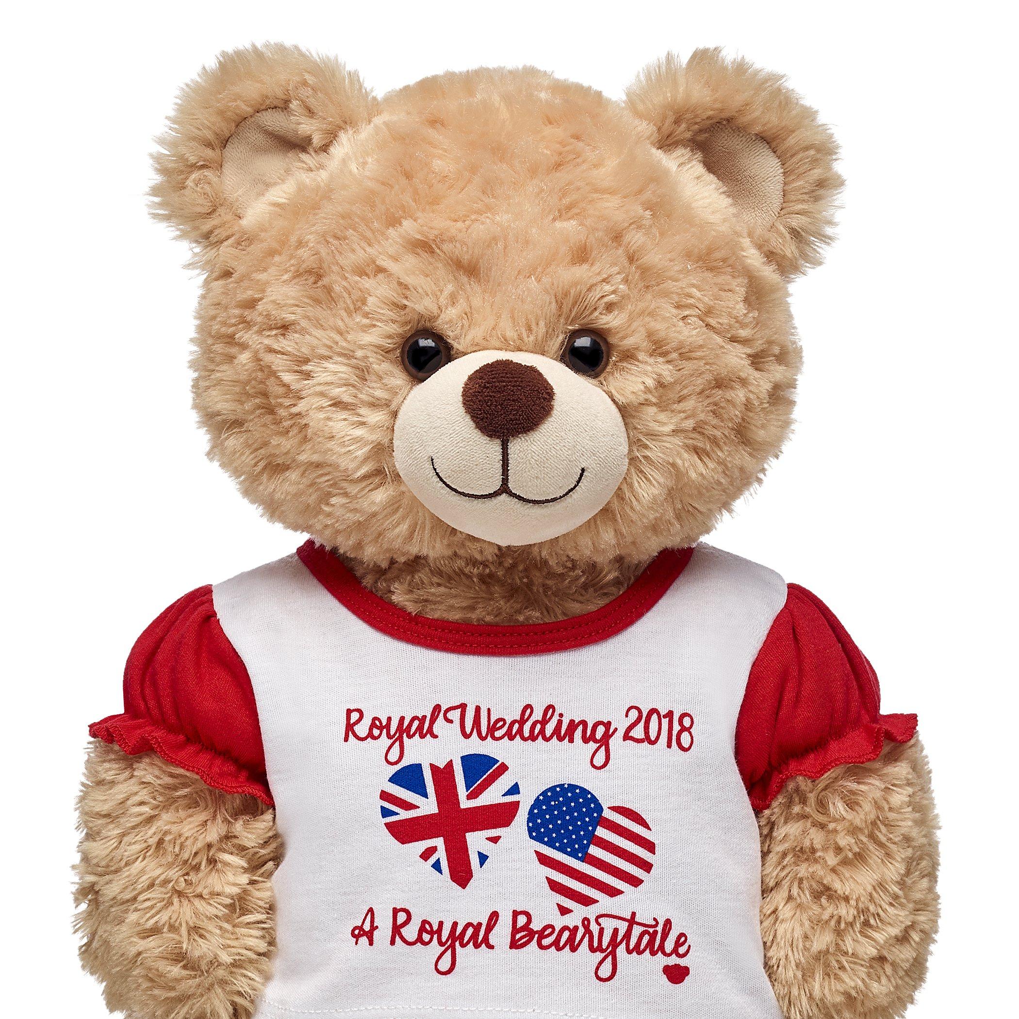 Build A Bear Work Introduces Royal Bearytale Shirt For The Wedding