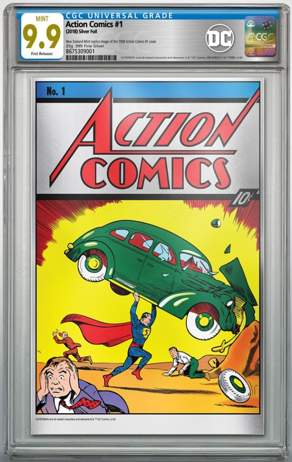 Action Comics #1 Silver Foil edition